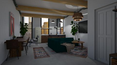 Template room  - Living room - by aq123