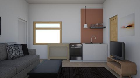 Dnevna soba Becej v2 - Classic - Living room - by javicuse