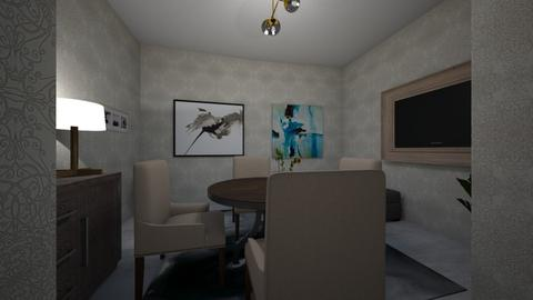ef - Dining room - by natkaloveee
