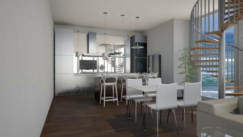Cozinha - Kitchen - by naaaaaaaaaaatt