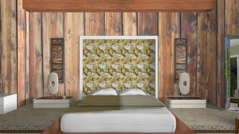 Behind the mask - Minimal - Bedroom - by mrschicken