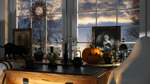 Halloween morning - by barnigondi