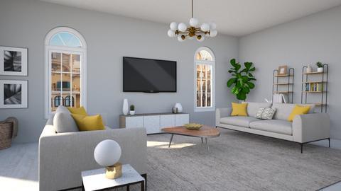 IP Terrazzo - Living room - by SBatres