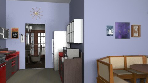 Kitchen-ReVamp - Eclectic - Kitchen - by PennyDreadful