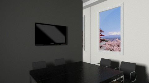 Asia room office view2 4 - Classic - Office - by Irena_S