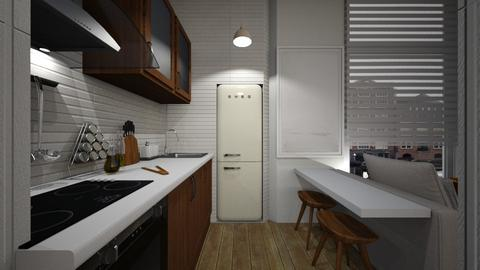 Casa256Kitchen - Modern - Kitchen - by nickynunes