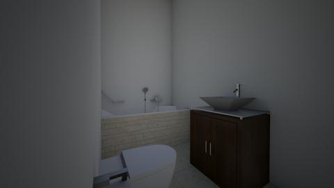 apartament nou 2 - Bathroom - by casilele25