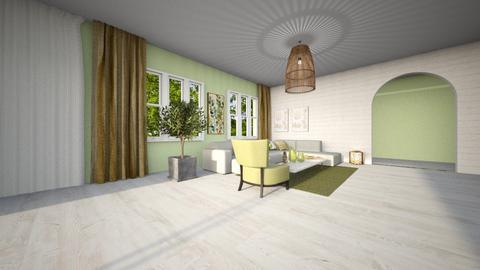 Zenovious Living room - Living room - by sierraibarra