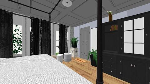 bedroom - by hiremirandas