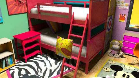 Bright room - Retro - Bedroom - by grace1