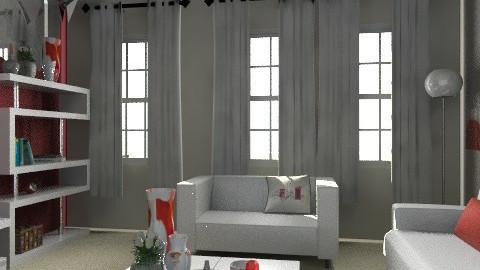 kk - Glamour - Living room - by asifgoldpk