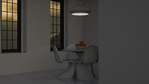 Pale - Minimal - Dining room - by HenkRetro1960