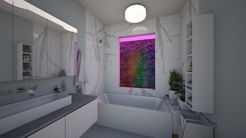 marble bath - Modern - Bathroom - by katsumi1016