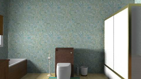 Banyo - Country - Bathroom - by pelinist
