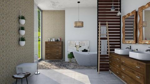 Bath Time - Rustic - Bathroom - by DeborahArmelin