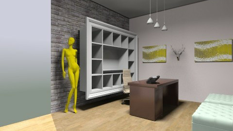 Reception Area L1 - Eclectic - by clhunold