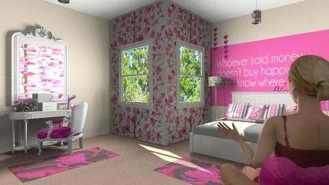 Teen Room - Glamour - Bedroom - by graciebellexxx