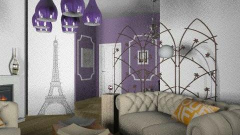 paris revisité 2 - Vintage - Living room - by calu13