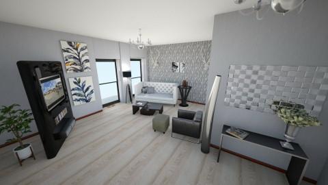 modern - Living room - by ehamlin