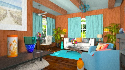 Paneled living room - Eclectic - Living room - by wiljun