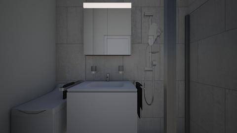 Lazienka - Bathroom - by wyborzdjec