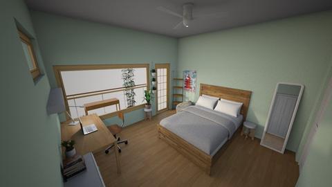 My Room Complete - Minimal - Bedroom - by Ameera Peachy Mint