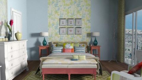 MasterBedroom-Rose - Eclectic - Bedroom - by jenshadow_222