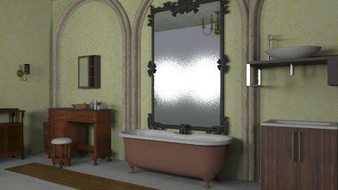 victorian bathroom - Vintage - Bathroom - by ioanavladut7