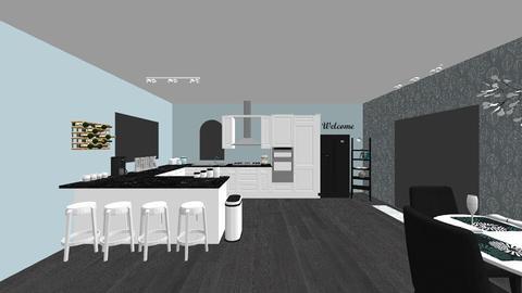Modern Kitchen - Modern - Kitchen - by carabadalamenti