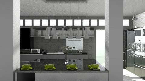 Kitchen3 - Modern - Kitchen - by KittiFarkas