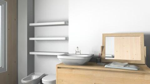 Bagno3  - Minimal - Bathroom - by jules_