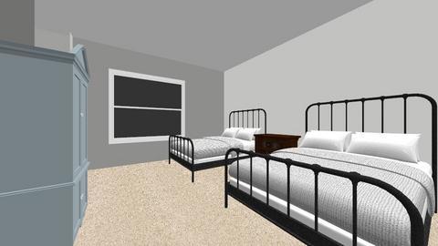 BackRoom - Vintage - Bedroom - by EmLiminator