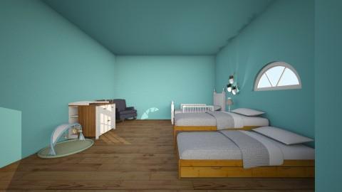 the unperfect kids room - Rustic - Bedroom - by Izabella Nahas