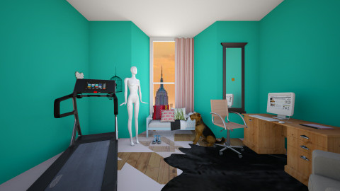 your room - Bedroom - by elen demiryan