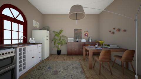 Cosima - Kitchen - by RaquelG