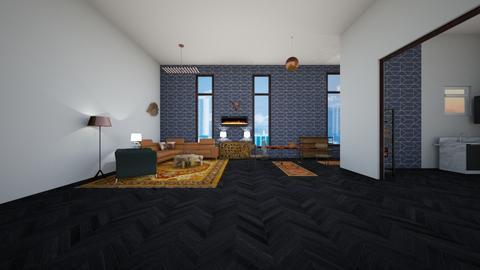 Expat Apartment - Living room - by JaidenLegg