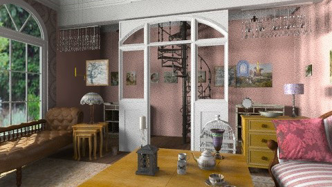 Trish and Sas - Vintage - Living room - by Mulligan Maria