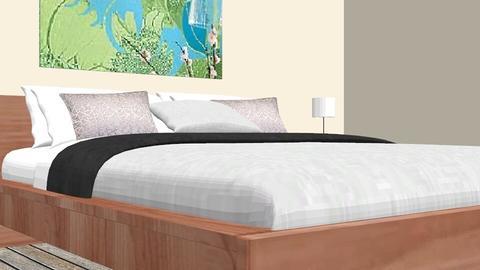 Iwka  - Minimal - Bedroom - by IwkaM
