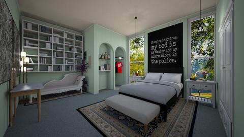 mdern playful room - Bedroom - by Kylie Awa