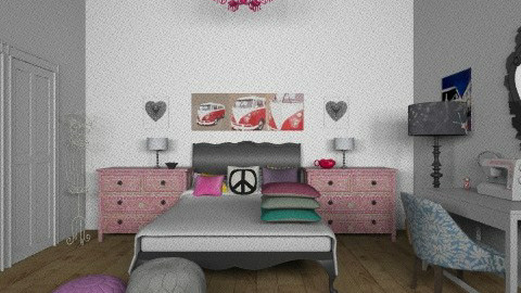 Quirky bedroom - Bedroom - by TheDesignQueen