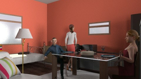 Th New Apartment - by Decorator1000