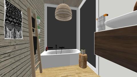 TROPICAL - Rustic - Bathroom - by klmmorales