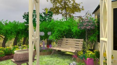 granny's garden - Country - Garden - by auntiehelen