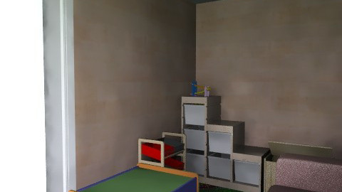 Playroom in living room - Country - Kids room - by DoverMom