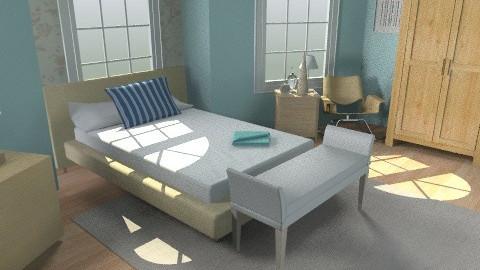 Ocean Bedroom - Eclectic - Bedroom - by Pepper710