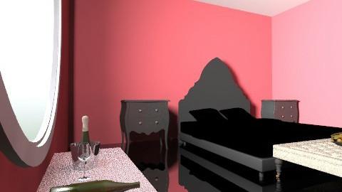 redroom2 - Bedroom - by mslmkus