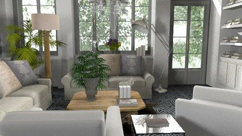 grsum3 - Country - Living room - by naki1