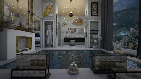 Winter Bathroom - by Design By Aafira