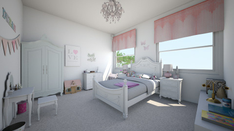 Harper - Bedroom - by MaisieTang