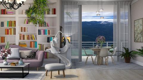 Summer vibes - Living room - by Alda Neziri